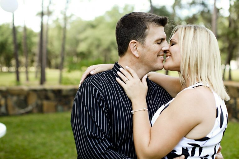 love, engagement, kiss